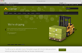 clarke joomla preview small